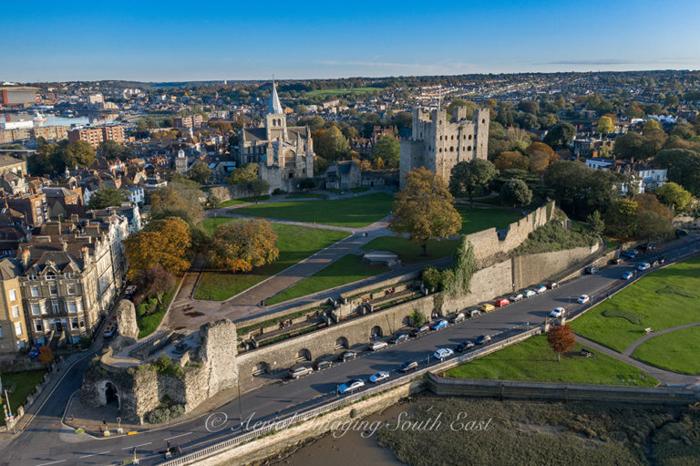 Drone Photography, Rochester Cathedral